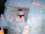 クリックすると白峰村雪祭りのページにジャンプします