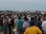 小松基地航空祭 大勢の観客
