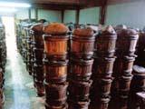 使い込んだ木樽たち